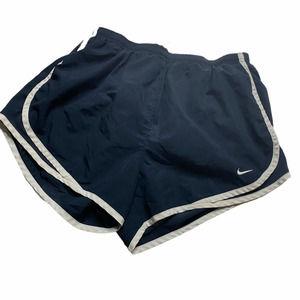 Nike Dri fit Women's Blue Running Shorts Built-In
